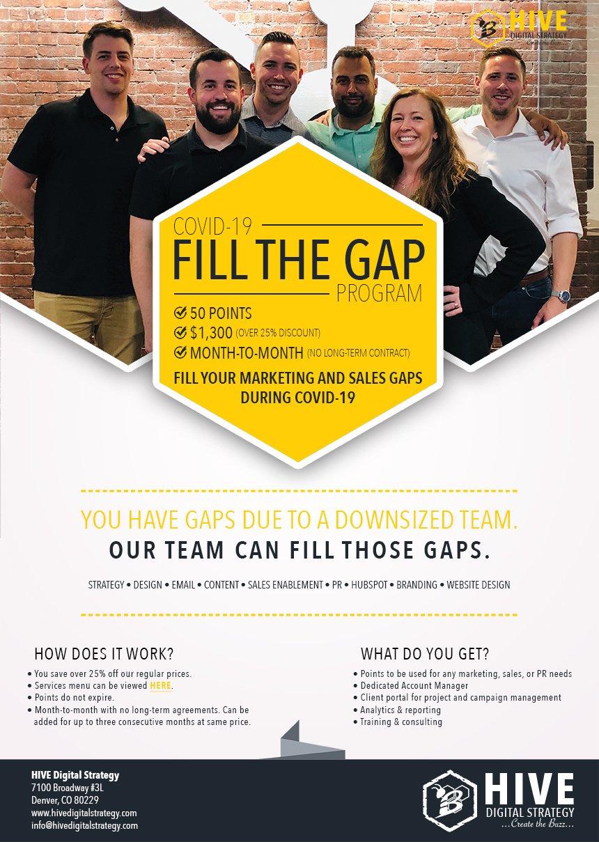 Fill The Gap Campaign_2020