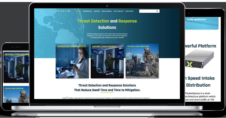 Axellio Website