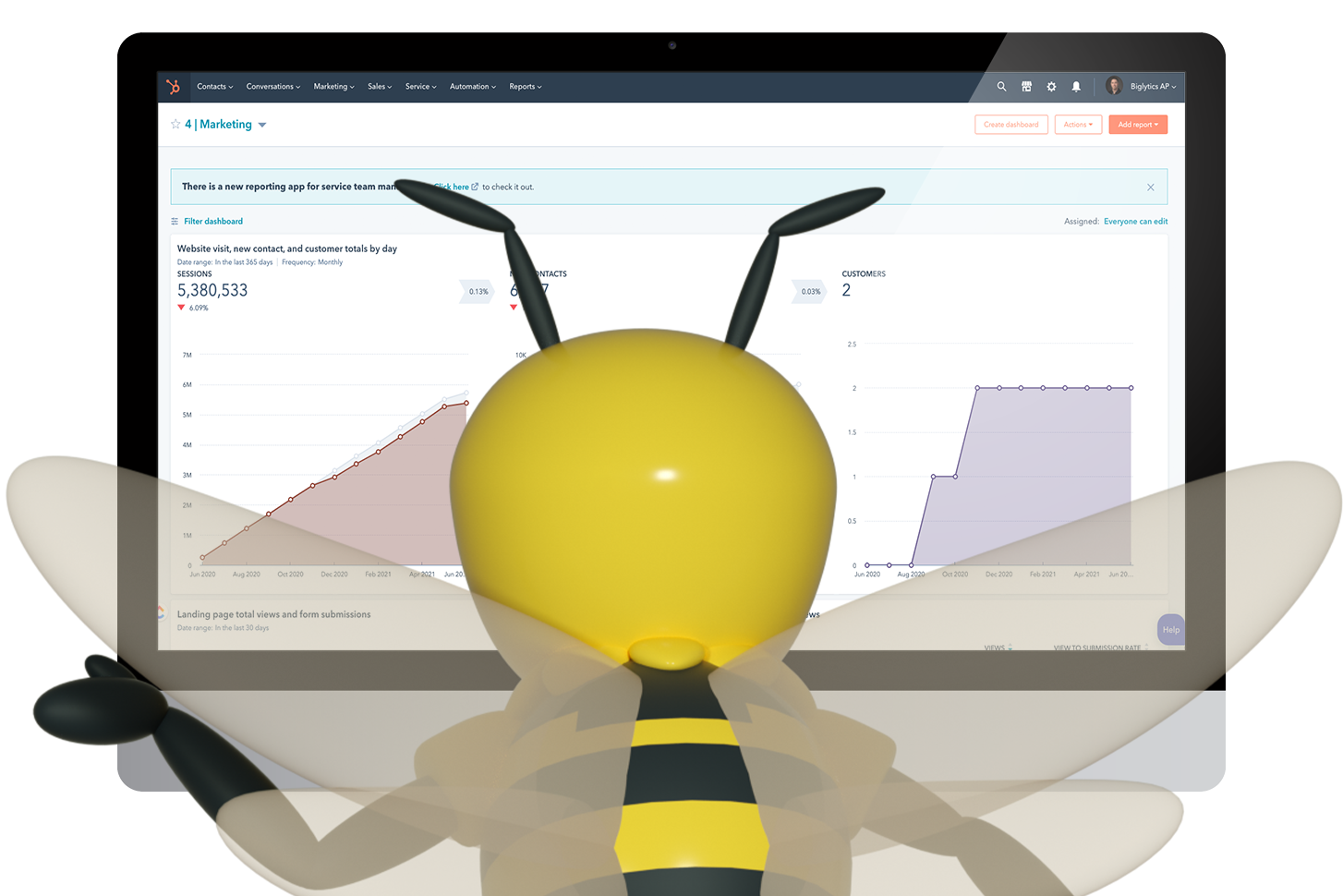 Buzzy HubSpot Reports