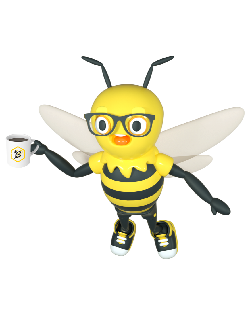 Buzzy with Coffee-1
