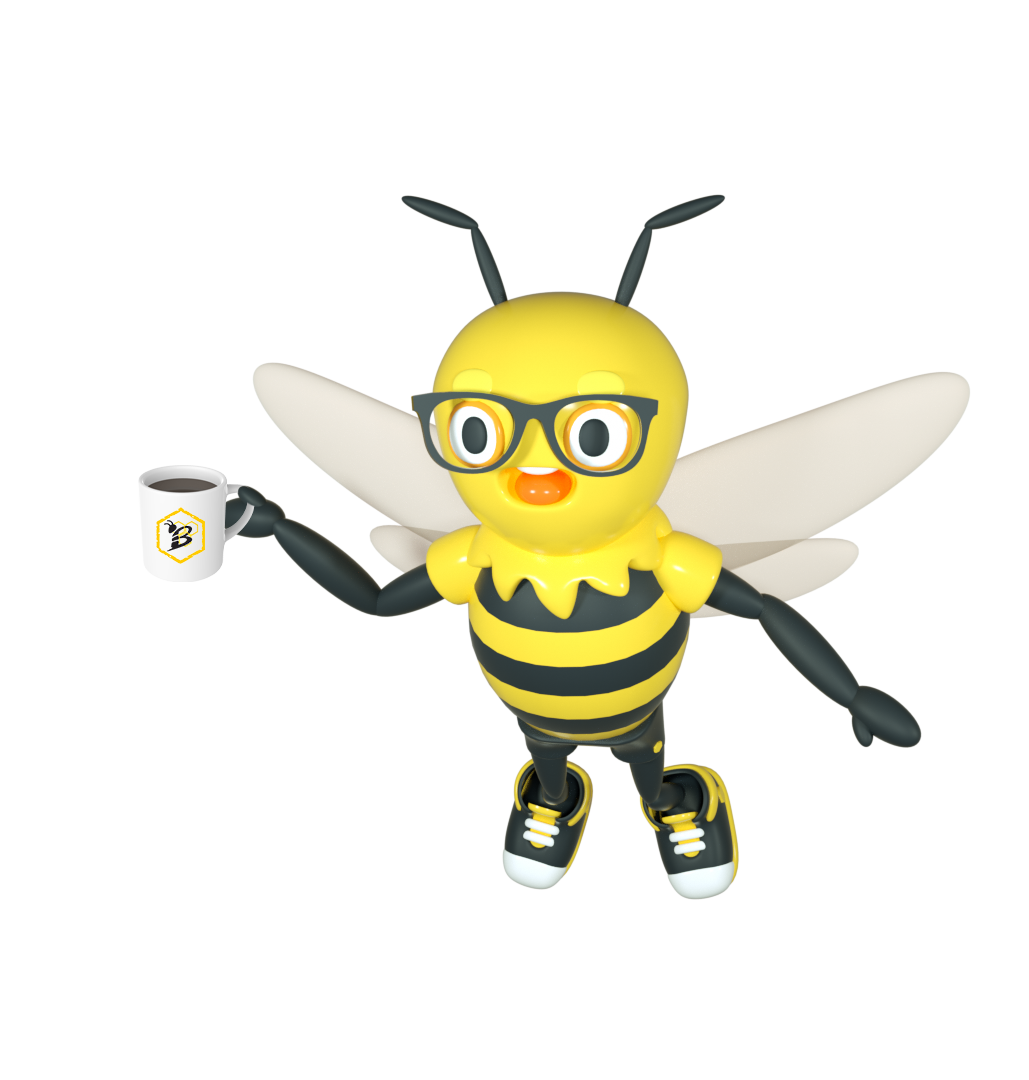 Buzzy with Coffee