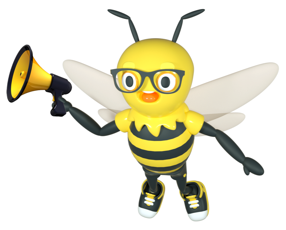 Buzzy with Megaphone-1