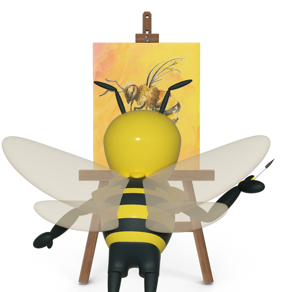 Buzzy Painting