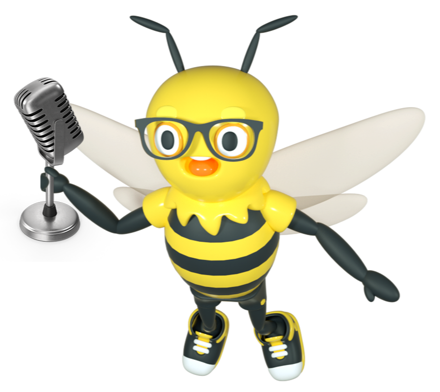 Buzzy with Microphone-1-1