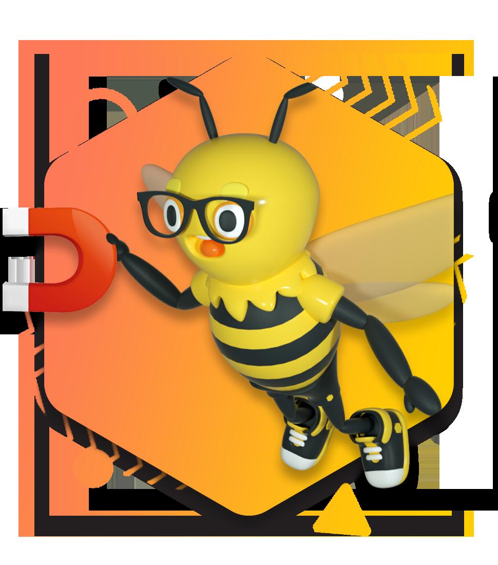 Honeycomb Website Design_Buzzy Magnet copy