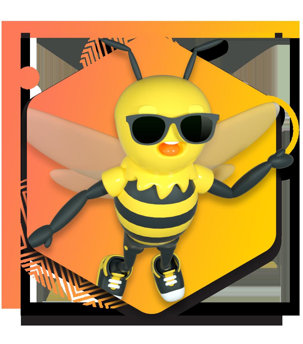 Honeycomb Website Design_Cool Buzzy R-1